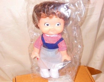 "Vintage Campbell's Doll Boy 10""  1988 New"