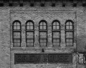 Original Olympia Beer Brewhouse Black & White Photograph