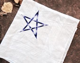 Purple Pentagram Handkerchief