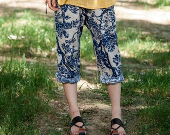 Casual Loose Fitting (R)Comfortable and casual harem pants- Women Clothing
