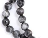 Larvikite Beads - 6mm Round