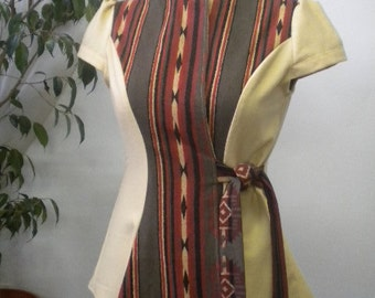 Elegant women's vest 100% cotton