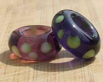 Two BHB's - big holed beads