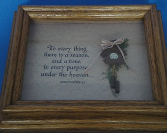 Ecclesiastes Framed Picture