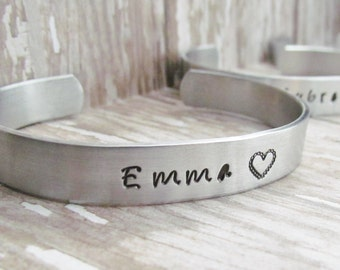 ONE Bracelet CUFF I Couldn't Say I Do Without You BRIDESMAID Personalized Hand Stamped Jewelry Bracelets Wedding Party Best Friends