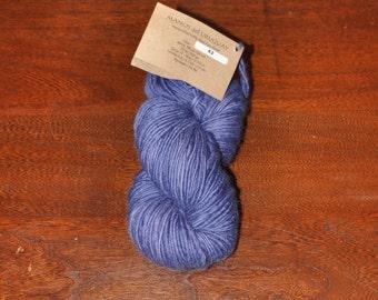 Manos del Uruguay Wool Clasica - 62 Cornflower - Handspun Pure Wool Kettle Dyed