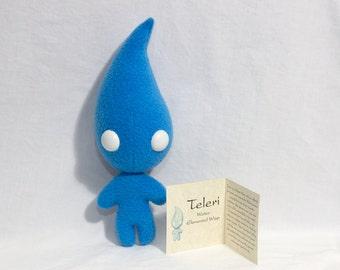 Teleri Water Elemental Wisp Plushie