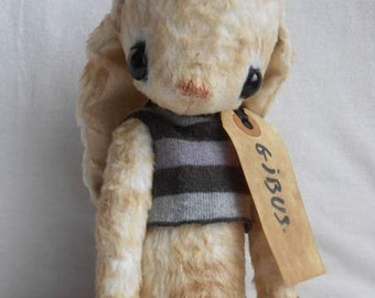 """PDF File for 10 -10,5 Inch Rabbit Sewing Pattern """"Gibus"""""""