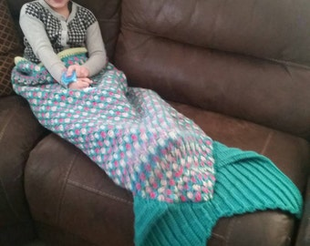 Made to Order Mermaid blanket