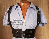 SALE Black Under Bust Harness -Size Medium-