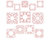 QUILT BLOCKS 2 - Machine Embroidery - Instant Digital Download