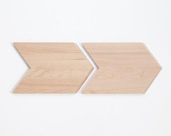 2 x cutting board SNUG.CHEVRON