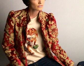 Tapestry Coat
