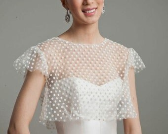 Dot Net Empire Jacket- as seen in Brides Magazine