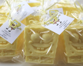 10 Spongebob Squarepants Party Favor Soaps