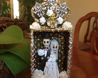 Day of the Dead Wedding Nicho