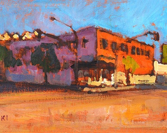 East Village- San Diego Landscape Painting