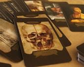 Custom Leonardo Da Vinci Tarot Cards