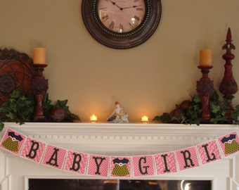 BABY GIRL Banner - with Fancy Dresses # 12