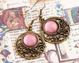 Copper - Oriental Earrings