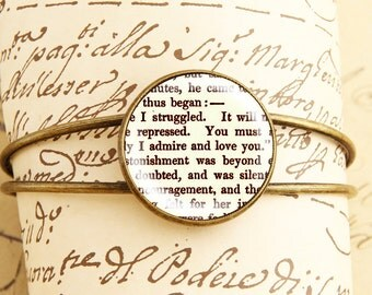 Pride and Prejudice - Bangle Bracelet