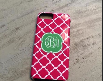 Design Your Own Personalized iPhone Case, iPhone 6/6S, iPhone 5, iPhone 6, iPhone 5S, iPhone 5C, Monogrammed Phone Case