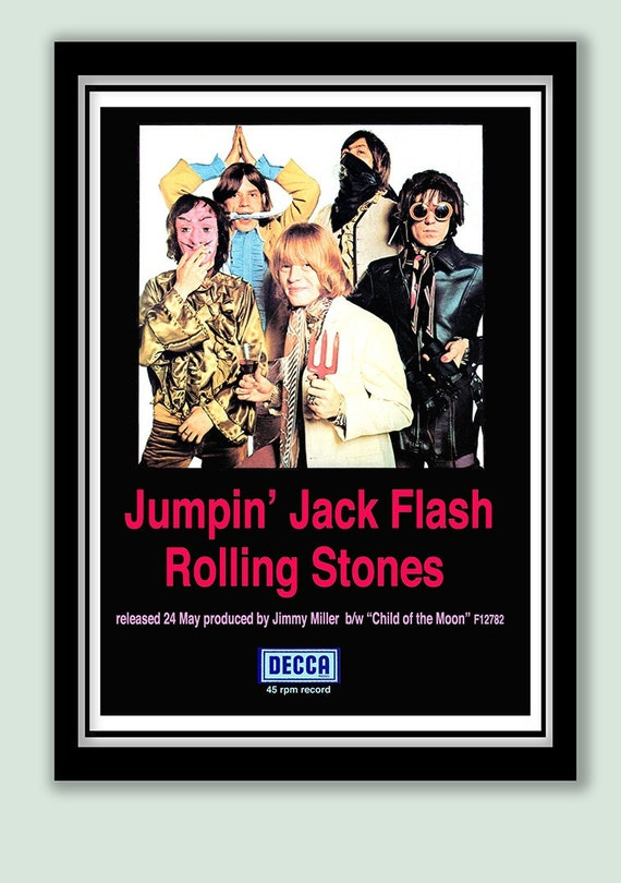 Jumpin Jack Flash Poster Jumpin' Jack Flash Promo
