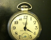 Antique Westclox Scotty Pocket Watch