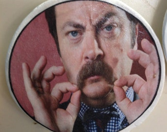 Parks and Rec's Ron Swanson Magnet