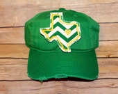 BAYLOR inspired TEXAS HAT