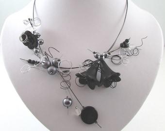 bellflowers necklace set (#3N)