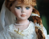 Bride Doll, Renaissance Wedding, Victorian Wedding, Bride, Renaissance Bride
