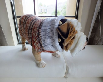 """COUPONCODE HOLIDAY2016 for 10 dollars off Dog Sweater SALE Bully 19"""" inches long"""