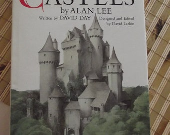 CASTLES - Hardcover Book by Alan Lee and David Day - 1984 - An Original Bantam Gift Book
