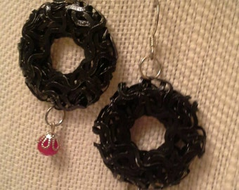 Gothic Wreath Earrings