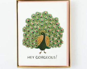 Hey Gorgeous Card 8pcs