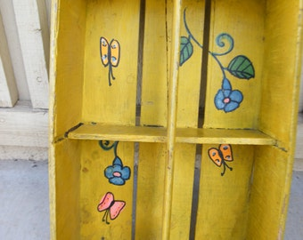 Vintage Painted Soda Crate