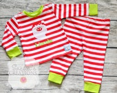 SALE Personalized Christmas Pjs