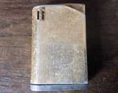 Vintage Worn Gold Colored Lighter / English Shop