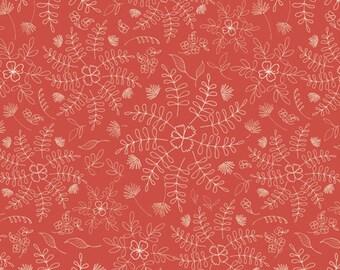 Wild & Free Crimson Dance by Maureen Cracknell for Art Gallery Fabrics