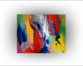 Abstract - Knocking on Heavens Door Original painting - 24 x 30 - Skye Taylor