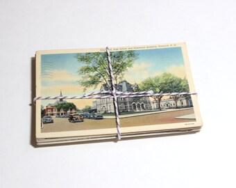 SALE 25 Vintage Used New Hampshire Postcards