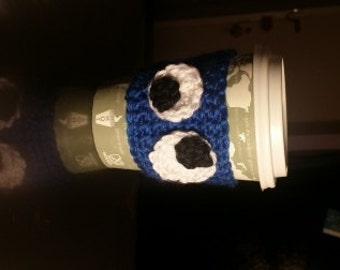 Cookie Monster coffee cup cozy
