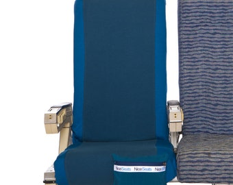 Washable Airplane Seat Cover- Teal #17- Great on Planes, Buses, Trains & Movie Theaters- Make a Clean Getaway