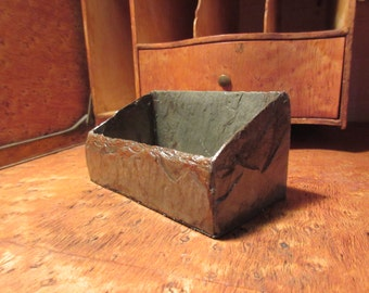 Business card holder made from 80 year old weathered slate #BC-25