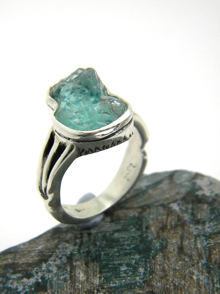 Sterling Silver Apatite Ring Rough Gemstone Ring Size 6. White Gold Eternity Band. Pearl Lockets. Key To My Heart Pendant. Sterling Silver Ankle Bracelets. Ring Lockets. 7 Stone Engagement Rings. Mesh Necklace. Vine Necklace