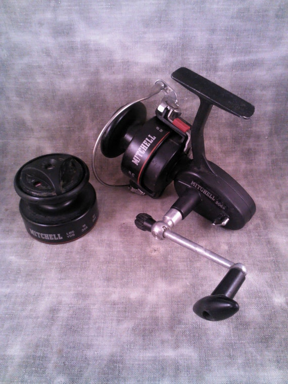 Vintage mitchell 306s spinning reel for Old mitchell fishing reels