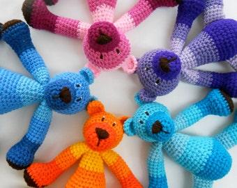 Ombre Teddy Bear Crochet