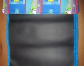 Chuggington Traveling chalkboard for kids fold up mat chalkboard