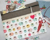 Counting Sheep Needlework Cross Stitch, Sewing, Embroidery Project Bag